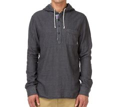 Vans - Pendrell Shirt ikat stripe / charcoal