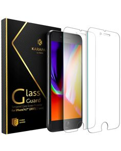 From Iphone 8 Plus / Iphone 7 Plus Screen Protector Anker Karapax Glassguard Screen Protector For Iphone 8 Plus / Iphone 7 Plus With Doubledefence Technology And Tempered Glass [case Friendly] Pack] Iphone 8 Plus, Iphone 6 7, Apple Iphone, Best Screen Protector, Iphone 6 Screen Protector, Tempered Glass Screen Protector, Samsung Galaxy S5, Iphone Glass, Panzer