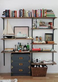 45 DIY bookshelves that work
