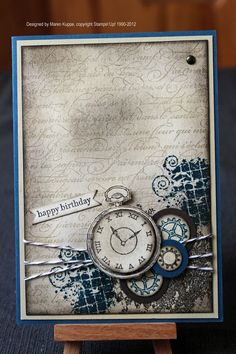Stampin' Up! - Clockworks