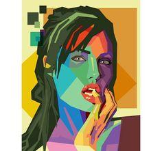Le portrait Geometrique WPAP, un style lancé en avril 2012, inspiré par le célèbre artiste indonésien Wedha Abdul Rasyid.  Pour faire votre portrait dans ce style, Rendez-vous sur www.personal-art.fr  Prix à partir de 70 €, prévisualisations et livraison incluses.