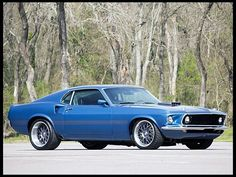 Gorgeous 69 Mustang Fastback