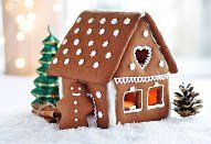 Elaborate and mostly edible, these 16 gingerbread houses are anything but tame. Plan a trip, check out the displays, and maybe even take a piece home. Christmas Time, Christmas Crafts, Christmas Baking, Merry Christmas, Cool Gingerbread Houses, Royal Icing Sugar, Festival Lights, Perfect Breakfast, Holiday Activities