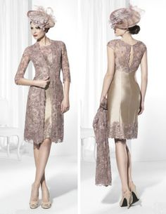 Elegance Lace Short Mother Of The Bride Dresses Formal Party Bridal Dresses