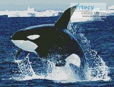 Whale 1 Counted Cross Stitch Pattern http://www.artecyshop.com/index.php?main_page=product_info&cPath=1_5&products_id=1373