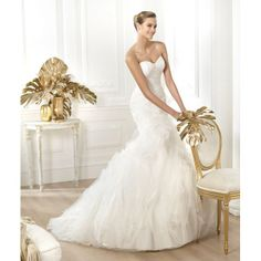 wedding gowns 2014 spring , LEIRE , Only $354.99, #strapless, #lace, #ruffles, #mermaid, #weddinggown, #bridaldress, #weddingdress, #bridalgown, #bridal, #wedding