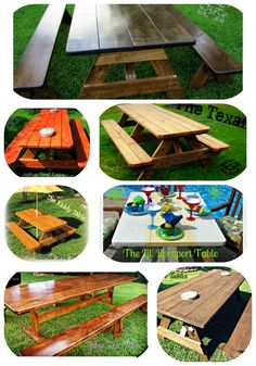 Different Picnic Table Designs