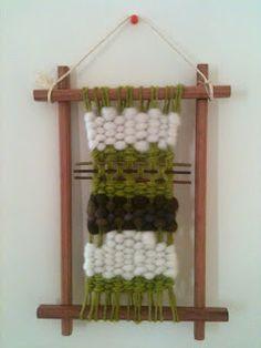 Mimita: De regreso a las pistas Colchas Quilt, Quilts, Woven Wall Hanging, Ladder Decor, Lana, Macrame, Origami, Tapestry, Miniature