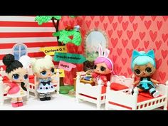 LOL Surprise Dolls Storybook Club Morning Routine & Room Tour - Family Fun Baby Doll Play With Toys - YouTube