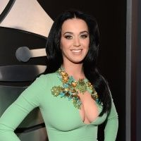 Katy Perry looking minty fresh at the 2013 #grammys