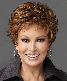 Autograph by Raquel Welch Wigs - Formerly called Ovation, this short carefree style includes a monofilament cap and lace front hairline for off the face styling.  Its also Heat Friendly so you can style it to your needs!