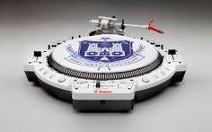 QFO LE turntable, 2005 - combination turntable and mixer, designed by DJ Qbert and engineered by Vestax