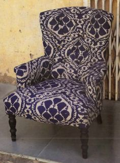 ikat chairs and stools