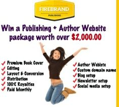 Win a Publishing Package From Firebrand Publishing Valued at over $2,000