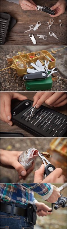 Quirky Sports Switch V2 EDC Fishing Pocket Multi Tool Knife Blade