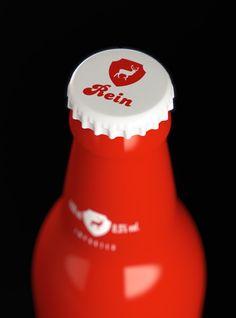 Rein beer packaging design