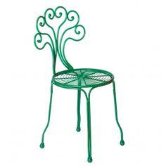 Oliver Bonas Bright Metal Garden Chair