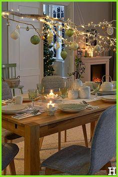 Carpe Diem, #Carpe #Diem #weihnachtenimschuhkarton #Weihnachtsessen Christmas Centerpieces, Xmas Decorations, Christmas Home, Christmas Crafts, Deco Table Noel, Carpe Diem, Diy Weihnachten, Decoration Table, Christmas Inspiration