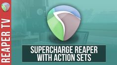 Supercharge your #Reaperdaw experience and workflow with Action Sets in this weeks new tutorial. https://www.youtube.com/watch?v=rV1drWugMD8&list=PLh1Qaso9T1U0B17AXNLlvmUFuF8lWX-o8