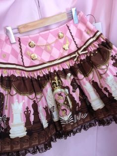AP Chocolate skirt! X3 It's so much Serah's (Final Fantasy XIII) style xD