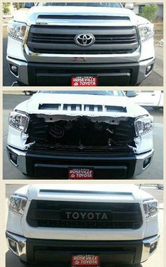 Hood bulge tundra pinterest hoods toyota and toyota tundra trd pro grill publicscrutiny Image collections