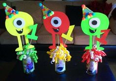 Monsters Birthday Party Ideas   Photo 1 of 33   Catch My Party