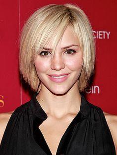 fun short hair | Katharine McPhee Says Blonde is More Fun — and More Work! – Style ...