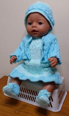 zelf gemaakt voor mijn pop:Baby Born-43cm-setje-blauw
