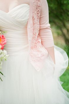 Aisle Style:Keep Cozy With Bridal Cardigans! - Wedding Party