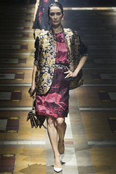 Lanvin - Digital and brocade