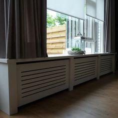"""steigerhouten radiator ombouw """" louvre """". elke maat mogelijk, Deco ideeën"""
