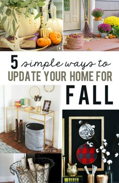 5 Ways to Update Your Home for Fall | eBay