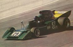 French GP 1973. F1 debut of Lichtenstein's Rikky Von Opel with the equally novice Ensign, a little masterpiece from Mo Nunn, the N173. It was the era of design creativity