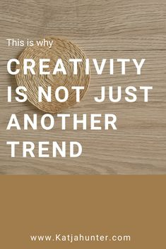 Read the post to learn why creativity is not another trend but the core of who you are. Your creativity is in you all the time and it's what sets you apart in life and business. Learn how to begin using your creative side. Self Development, Personal Development, Self Compassion, Kaizen, Life Purpose, Creative People, Best Self, Inner Peace, Creative Business