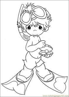 coloring page Precious moments on Kids-n-Fun. Coloring pages of Precious moments on Kids-n-Fun. More than coloring pages. At Kids-n-Fun you will always find the nicest coloring pages first! Angel Coloring Pages, Colouring Pages, Printable Coloring Pages, Adult Coloring Pages, Coloring Sheets, Coloring Books, Boy Coloring, Coloring Pages For Kids, Free Coloring