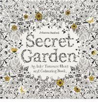 Johanna Basford: Secret Garden (aikuisten värityskirja) (13,50€)