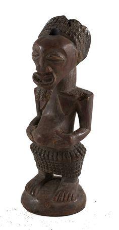 African Statue   Songye/Songe  Congo  American art artwork statues folk art statuette tribal artwork wood carving artifacts woman #statuette #AfricanFolkArt #AfricanArtwork #TribalArtwork #Songye #Songe #Congo #AfricanMask #AfricanStatues #AfricanAmericanArt African Artwork, Inspirational Artwork, African Masks, African American Art, Congo, Wood Carving, Statues, Metal Working, Folk Art