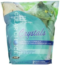 Clear Choice Silica Crystals Cat Litter Bag, 8-Pound ** Click on the image for additional details. (This is an affiliate link and I receive a commission for the sales) #Pets