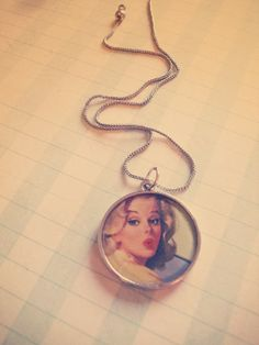 Upcycled Diary Necklace