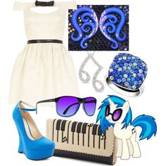 My summer dance outfit :33