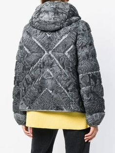 Women's Down Jackets Vintage Fur, Padded Jacket, Fashion Outfits, Womens Fashion, Vintage Couture, Coats For Women, Cool Style, Winter Fashion, Fur Coat