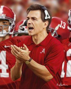 Nick Saban quote photo by Alabama Football Quotes, Alabama College Football, Crimson Tide Football, Alabama Crimson Tide, Alabama Baby, Nick Saban Quotes, Alabama Athletics, Athlete Quotes, Roll Tide
