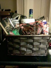 Candy and Wine Basket!!