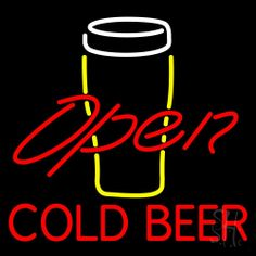 1000 images about Cold Beer Open Neon Signs on Pinterest #2: e ebd8f04f b bff02