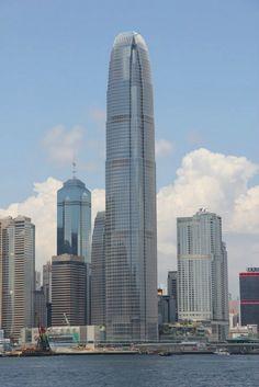 International Finance Centre, Hong Kong, China (412m)