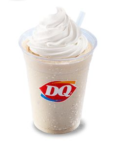 Calling all peanut butter lovers! You will love this peanut butter shake or malt #peanutbutter #longislanddq #DairyQueen