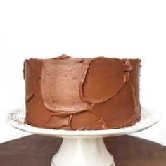 This German Chocolate Cake has dark chocolate cake layers, chocolate buttercream, toasted coconut filling and a pecan crunch. Chocolate Wafer Cookies, Chocolate Fudge Frosting, Dark Chocolate Cakes, Chocolate Wafers, German Chocolate, Ultimate Chocolate Cake, Cakes And More, Let Them Eat Cake, No Bake Cake
