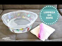 Como Limpar o Sofá (e as Capas das Almofadas) em Casa | Organize sem Fre...