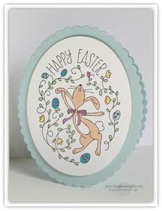 Happy Easter Bunny  Stampin' Up!