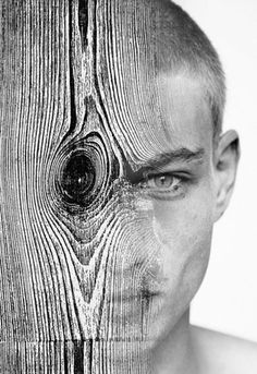 Dream Portraits by Antonio Mora. Migraines typically attack one side of the brain.